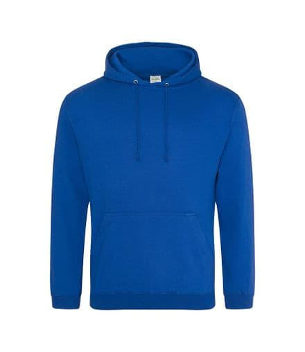 Embroidered Hoodie ROYAL BLUE