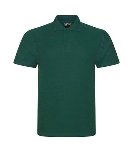 Embroidered Polo Shirt Bottle Green