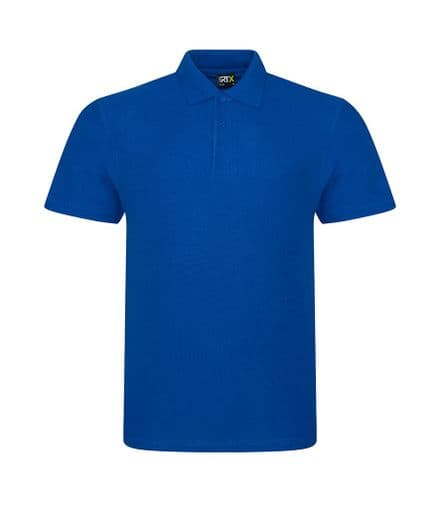 Embroidered Polo Shirt Royal Blue