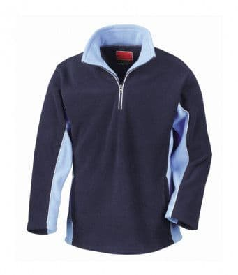 Mens Zip Neck Fleece