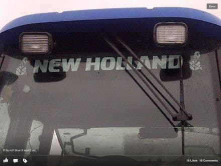 New Holland Sunstrip with Girls