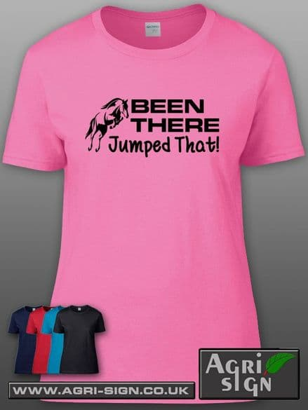 Womens Premium T Shirt - Been There Jumped That