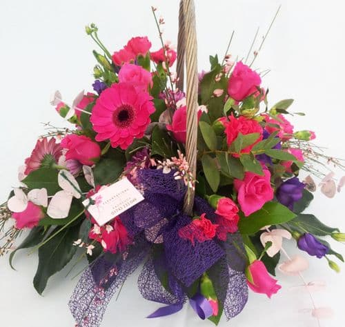 Florist Choice Traditional Basket