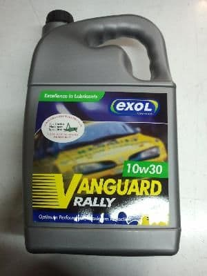 A0103005L Oil 5LT OIL, VANGUARD RALLEY SAE 10W/30 SH-RM