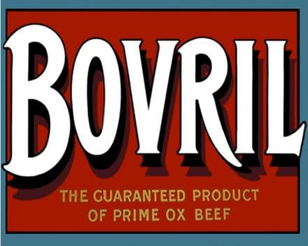 Bovril - Metal Advertising Wall Sign