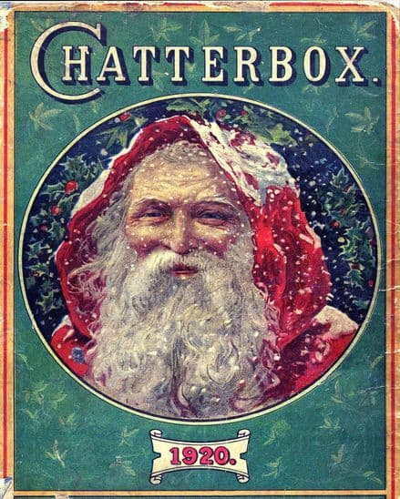 Chatterbox Christmas Father christmas  - Metal Advertising Wall Sign (1) (3)