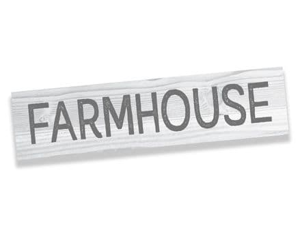 Farmhouse Farm Kitchen Metal Sign Plaque