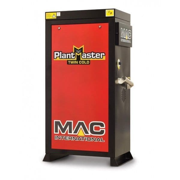 MAC Twin Cold PlantMaster 21/200 - 415V - Cold Water Pressure Washer