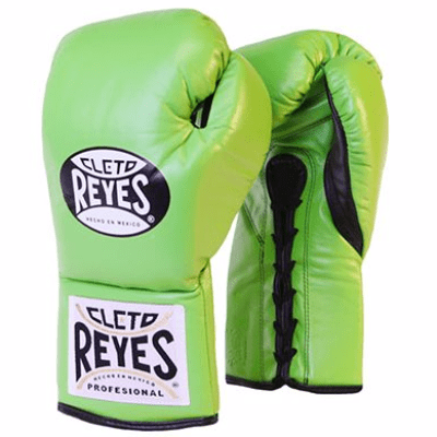 Cleto Reyes Traditional Contest Gloves - Green