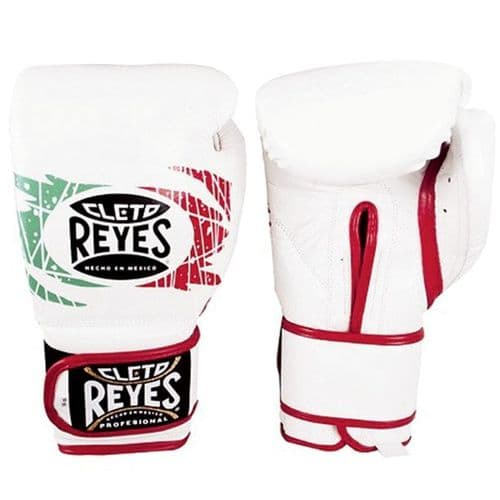 Cleto Reyes Wrap Around Sparring Gloves - Mexican Flag