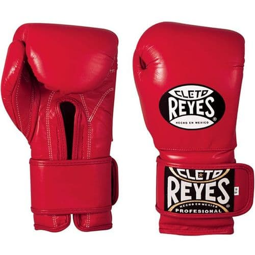 Cleto Reyes Wrap Around Sparring Gloves - Red