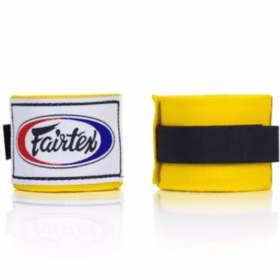 Fairtex 4.5m Hand Wraps - Yellow