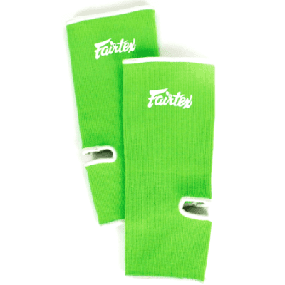 Fairtex Ankle Supports - Green/White