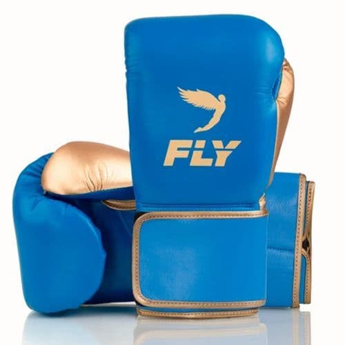 Fly Superloop X Training Gloves - Blue/Gold