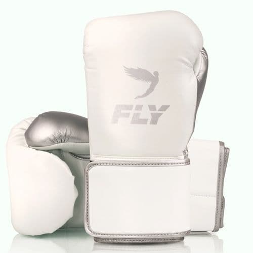 Fly Superloop X Training Gloves - White/Silver