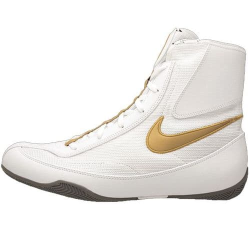 Nike Machomai V2 Boxing Boots - White/Gold