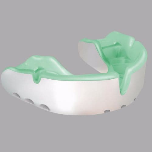 Opro Gold Mouth Guard - White/Mint