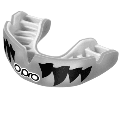 Opro Power-Fit Mouthguard - Jaws Silver