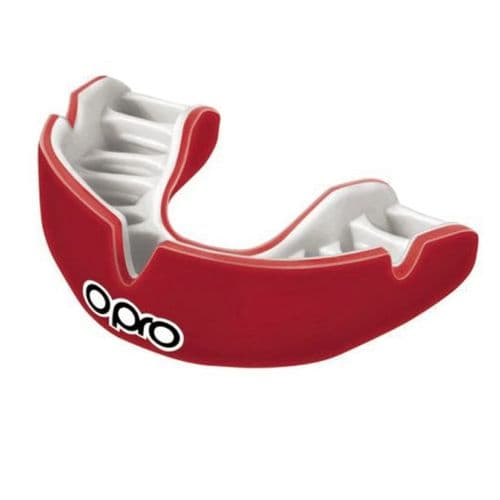 Opro Power-Fit Mouthguard - Red