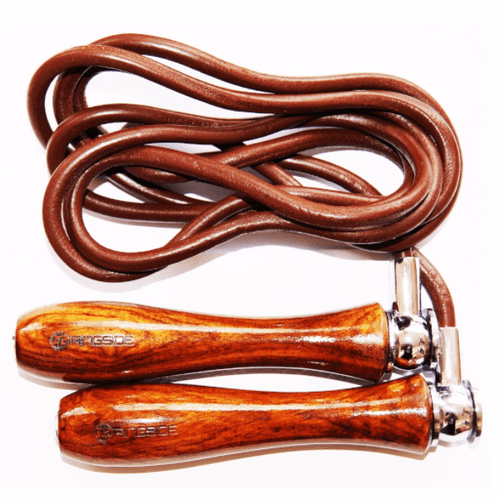 Ringside Weighted Handle Leather Skipping Ropes