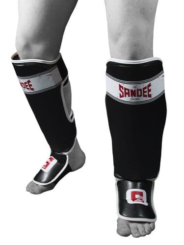 Sandee Sport Shin Guards - Black