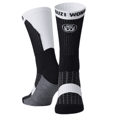 Suzi Wong Boxing Socks - Black/White