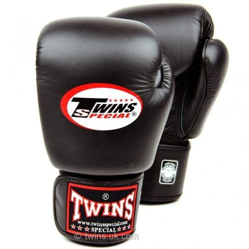 Twins Standard Boxing Gloves - Black