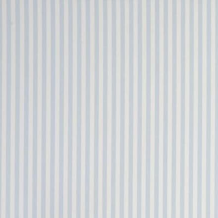 Party Stripe Oilcloth in Sky
