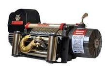 17500LB WARRIOR SAMARAI WINCH - STEEL ROPE