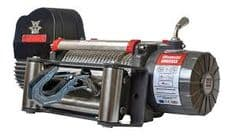 8000LB WARRIOR SAMARAI V2 WINCH -STEEL ROPE