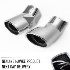 Chrome Exhaust Tips for Range Rover Sport, Vogue and New L405 - HAWKE BRAND