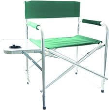 Director's Chair, Folding, for Camping/Fishing/Outdoors, GREEN