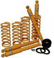 """DISCOVERY 2 +2"""" AIR TO COIL CONVERSION LIFT SUSPENSION KIT DA5008"""