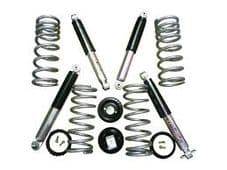 Discovery 2 air to coil conversion kit (Medium Load, 2 inch lift includes spings and All-Terrain Sho