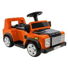 KIDS RIDE ON LAND ROVER DEFENDER SMALL ORANGE -  DA1518