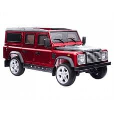 Kids Ride On RED Land Rover Defender - 12v Working Led and MP3 Connectivity