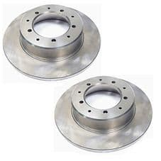 LAND ROVER DEFENDER - QUALITY REPLACEMENT - REAR DISCS (PAIR) - LR017953