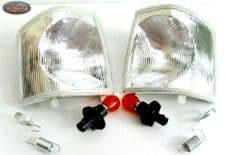 LAND ROVER DISCOVERY 1 - CLEAR INDICATOR -PAIR