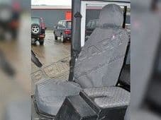 Land Rover Discovery 2 FRONT  Seat Covers GREY