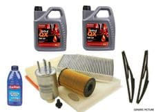 LAND ROVER DISCOVERY 3 2.7 TDV6 FILTER KIT, OIL/FUEL/AIR 10L OIL & WIPERS & WASH