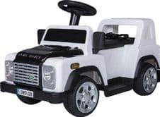SIT ON TOY DEFENDER WHITE DA1517