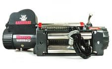 WARRIOR 14500 SAMURAI V2 12V STEEL CABLE ELECTRIC WINCH