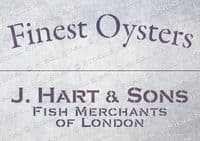 Crate Finest Oysters