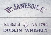 Crate Jameson Whiskey