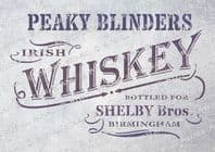 Peaky Blinders Whiskey