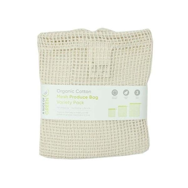 A Slice of Green Mesh Produce Bag Variety Pack