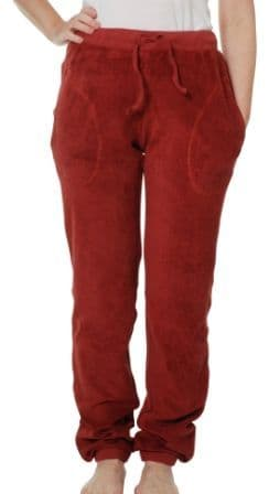 Duns Brick Red Adult Terry Trousers