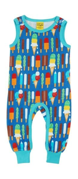Duns Dungarees Ice Cream Blue