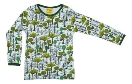 Duns Enchanted Forest Long Sleeve Top