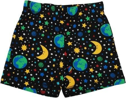 Duns Mother Earth Black Short Pants